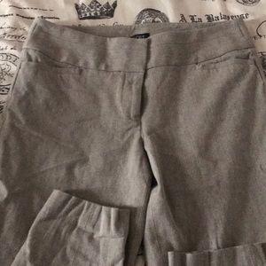 Skinny crop dress pants